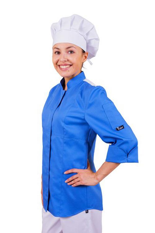 E-Chef.ru женские поварские куртки. китель повара для женщин