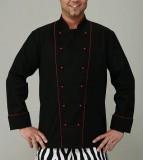 RC 06 - Куртка поварская с цветным кантом