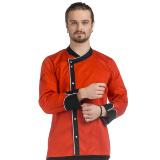 RC 12 - Куртка повара с асимметричным запахом E-Chef