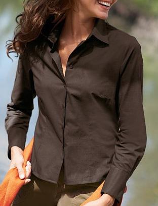 8ecc0c85eea Блузка классическая коричневая Блузка классическая