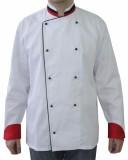 RC 34 - Куртка поварская с красно-черной отделкой