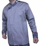 RC 35А - Куртка поварская с отделкой Принт 1398/3