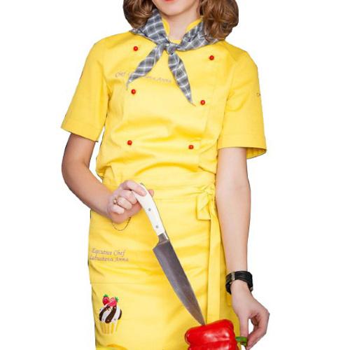 E-chef - Куртка поварская женская